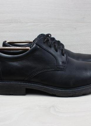 Мужские кожаные туфли clarks оригинал, размер 42.5