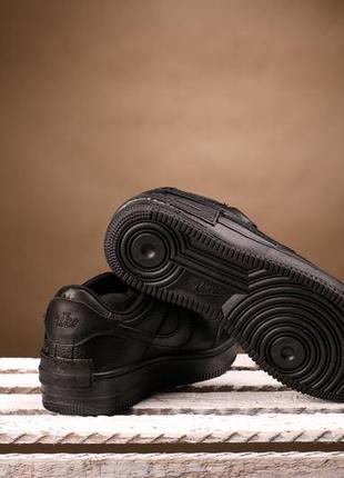 Puma cali black white низкие кожаные кроссовки кеды3 фото