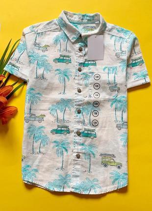 Льняная сорочка для мальчиков c&a