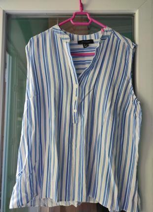Летняя рубашка безрукавка от atm