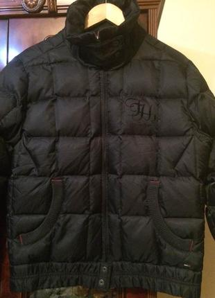 Пуховик куртка tommy hilfiger,оригинал