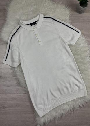 Стильная футболка поло zara
