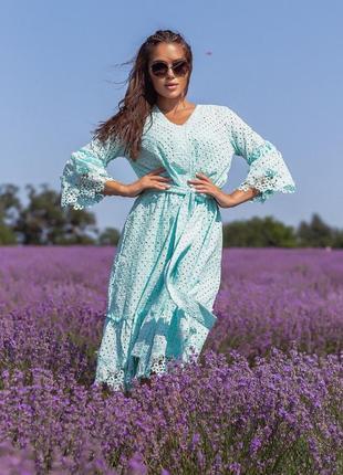 Платье в расцветках р 42-48