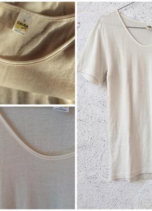 Термомаечка virgin wool нежная шерсть calida 🇨🇭 согреет в холода по швейцарски