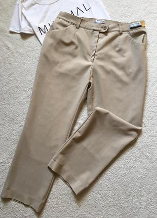 Укороченные брюки штаны бежевые brax