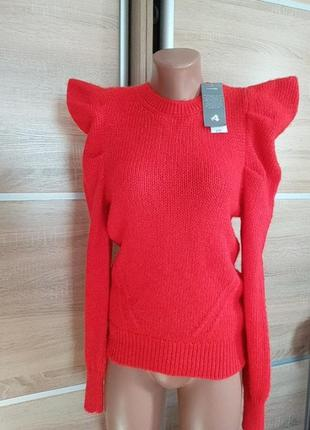 Нежнейший свитер с рукавами фонариками