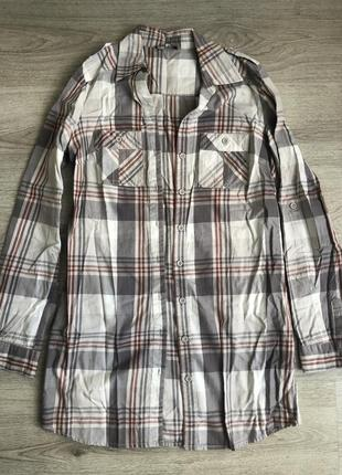 Длинная рубашка-туника s