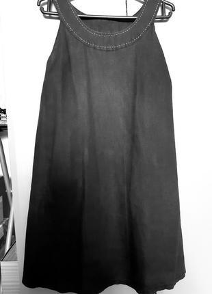 Летнее платье, 100% лен