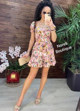 Платье на лето  ткань софт