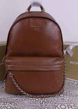 Кожаный рюкзак michael kors slater large оригинал майкл корс