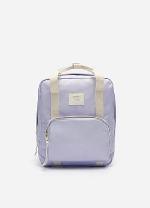 Стильний лавандовий рюкзак портфель