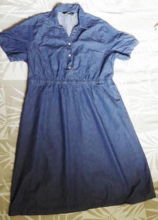 Джинсова сукня для вагітних  / годуючих / сарафан
