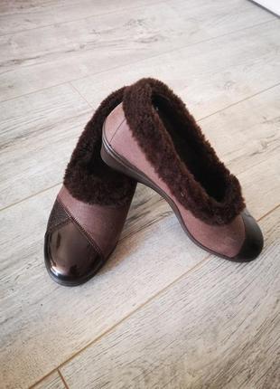 Туфли зимние на меху