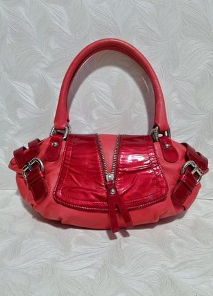 Красивая кожаная сумка stuart weitzman, оригинал