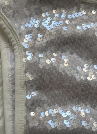 Плавки в паетки трусы от купальника с высокой посадкой5 фото