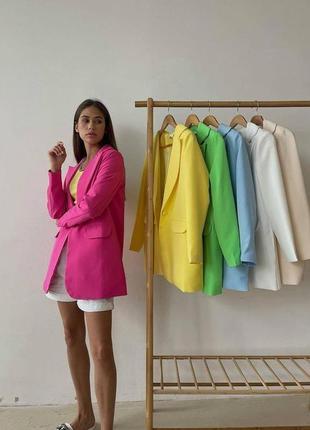 ✅new✅ однобортные пиджаки свободного кроя amor стиль oversize в топе трендов 💣🔥