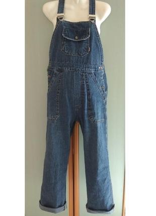 Джинсовый комбинезон для беременных nart jeans