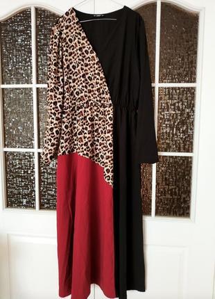Платье макси shein