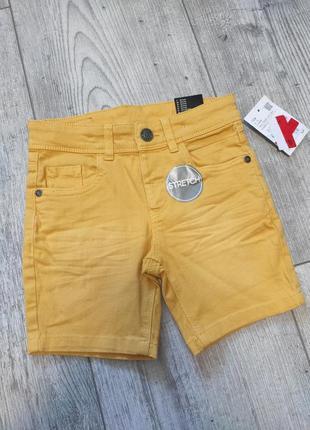 Джинсовые стрейчевые шорты c&a 104 см