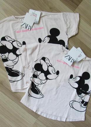 Детская футболка zara disney 98 см и 104 см