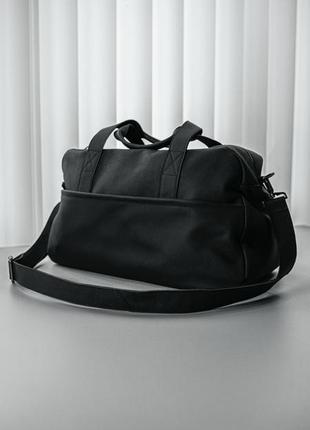 Кожаная сумка ручная кладь сумка в зал