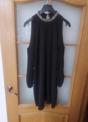 Платье с открытыми плечами от amisu,p.40