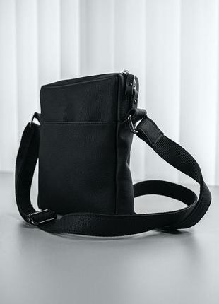 Меседжер из натуральной кожи барсетка сумка через плечо