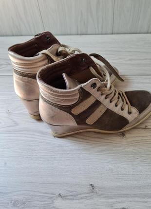 Ботинки шкіряні, р 40