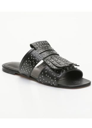 Новые мюли melvin & hamilton кожа шлёпки босоножки сандалии шлёпанцы