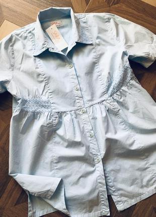Рубашка блузка sara
