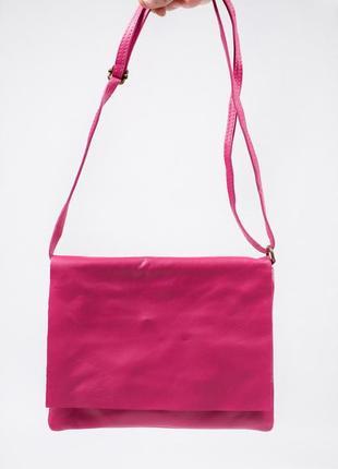 Маленькая сумочка из натуральной кожи.