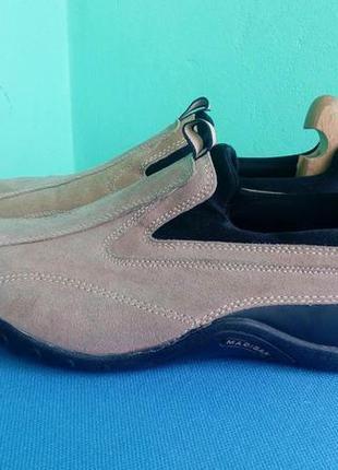 Туфлі замшеві madigan (італія)