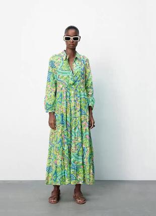 Платье zara 🌼