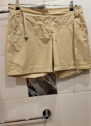 Женские короткие шорты хлопок р.50 eur 42