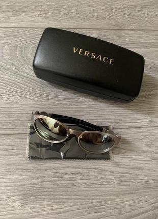 Versace женские солнцезащитные очки, оригинал версаче италия