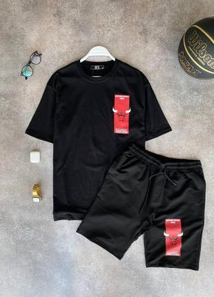 Стильный костюм шорты футболка