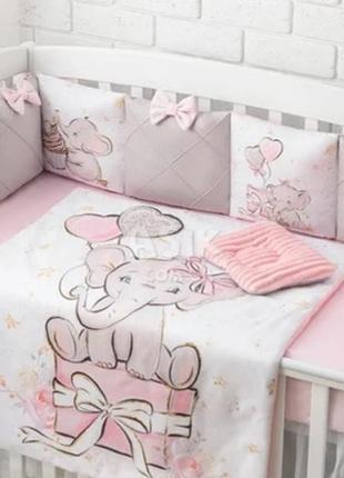 Бортики для дитячого ліжечка asik