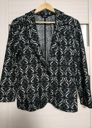 Пиджак жакет трикотажный в узор george