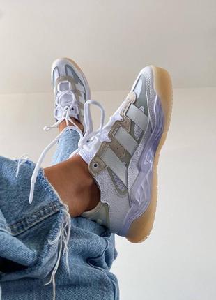 Женские кроссовки adidas niteball white