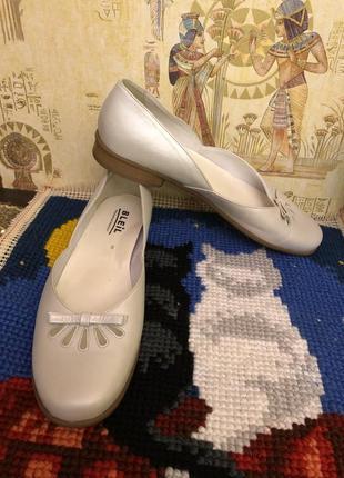 Стильные немецкие кожаные туфли bleil