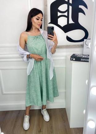 Платье и блузка комплект