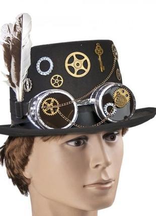 Шляпа детектива блэксмита в стиле стимпанк
