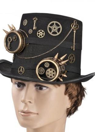 Роскошная шляпа в стиле стимпанк доктор бенедикт