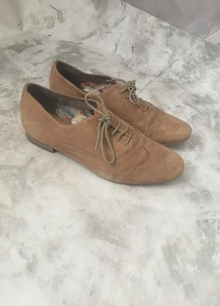 Туфли натуральная замша оригинал