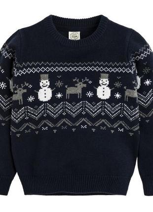 122,128,134. свитер снеговики cool club. в наличии!