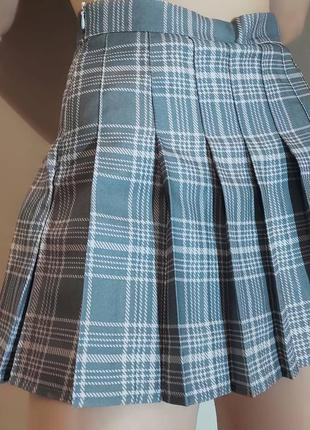 Аниме юбка плисированная