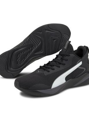 Чорні кросівки на кожен день і для бігу puma