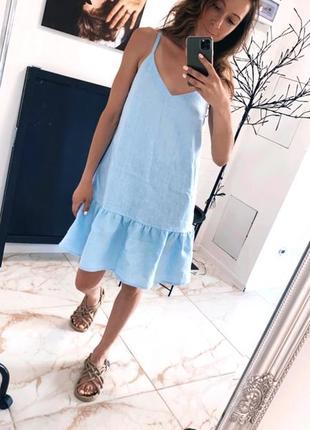 Платье 100% лён. премиум качество!!!