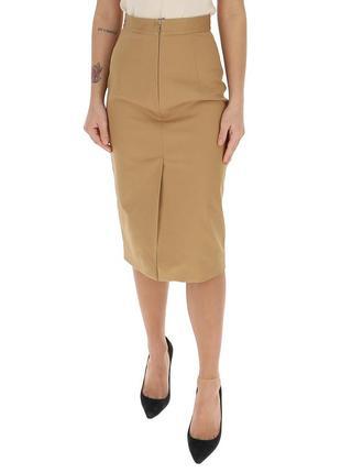Итальянская юбка-карандаш миди. новая с этикеткой р-р l. стретч