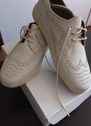Bally suisse siesta швейцария оригинал р. 9 (43) летние туфли с перфорацией